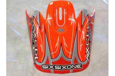 Visiere sixsixone axcel orange