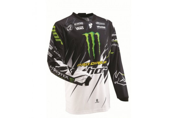 Maillot S13 phase pro circuit monster energy 2910-2625