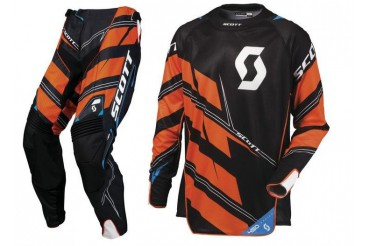 Tenue Scott 450 Commit NOIR/ORANGE