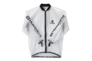 Imperméable HUSQVARNA RACING RAIN TRANSPARENT