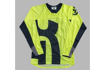 RAILED SHIRT GREY MAILLOT HUSQVARNA