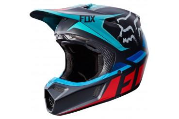 FOX V3 SECA GREY/RED
