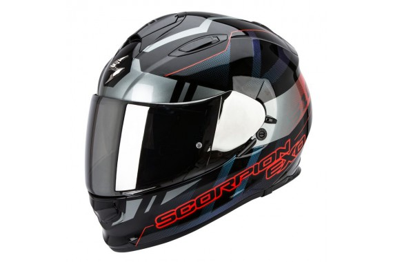 SCORPION EXO 510 STAGE ARGENT ROUGE