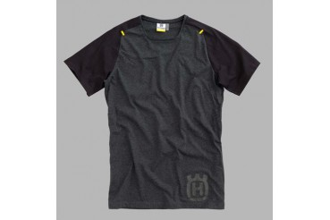 PROGRESS TEE BLANCK HUSQVARNA