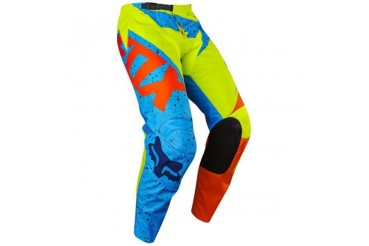 Pantalon Fox 180 Nirv KIDS JAUNE/BLEU