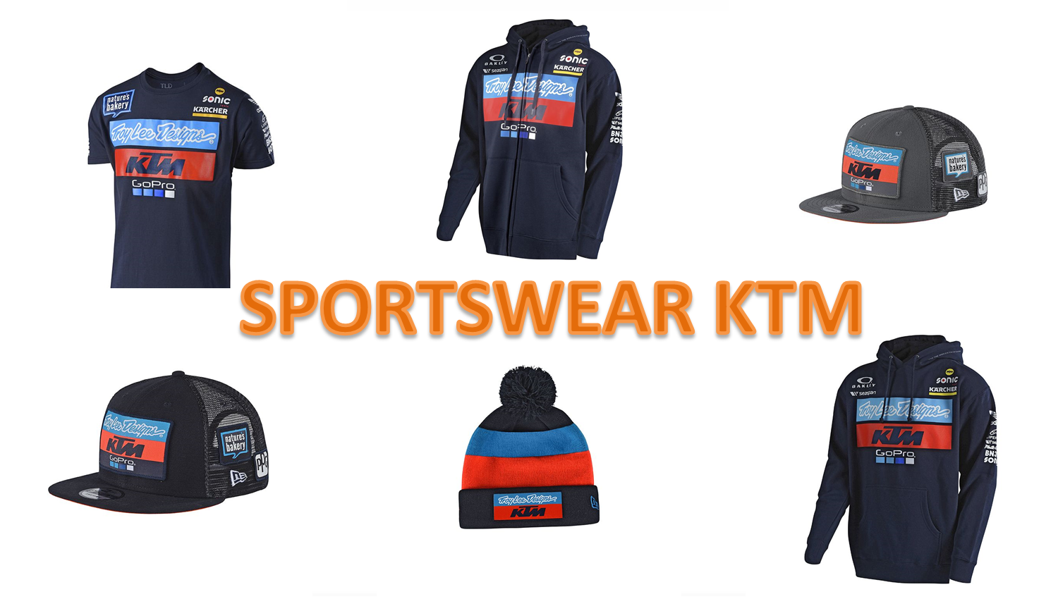 SPORTSWEAR KTM TROY LEE DESIGNS