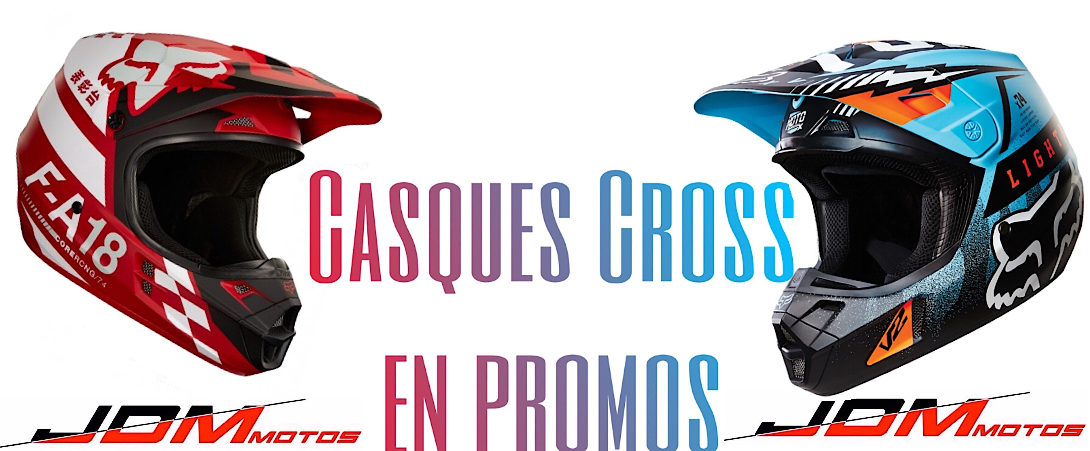 PROMOTION CASQUE CROSS