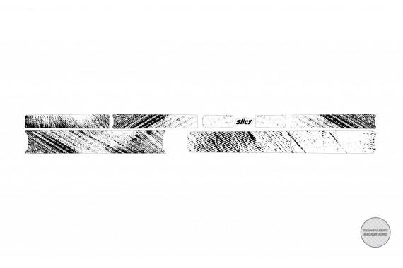 Protection de cadre Sublimistick Color Grunge | Slicy