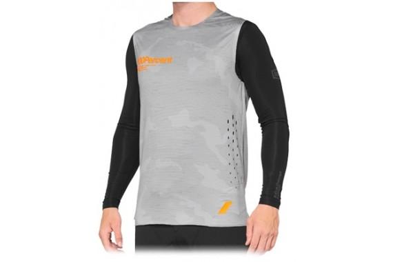 Maillot R-Core Concept - Grey Camo | 100%
