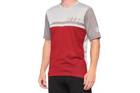 Maillot Airmatic - Cherry Grey   100%