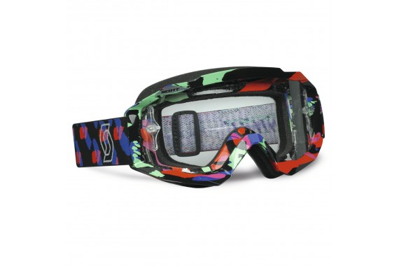 Masque Hustle MX Plasma BL Clear Works | SCOTT