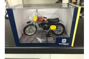 MINIATURE HUSQVARNA CROSS 400 1970 B.ABERG REPLICA