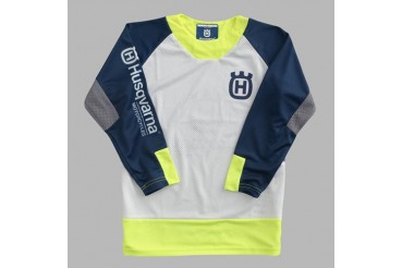 KIDS RAILED SHIRT MAILLOT ENFANT HUSQVARNA