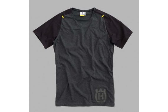 PROGRESS TEE BLACK | HUSQVARNA