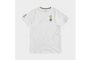 FACTORY TEAM TEE WHITE | HUSQVARNA