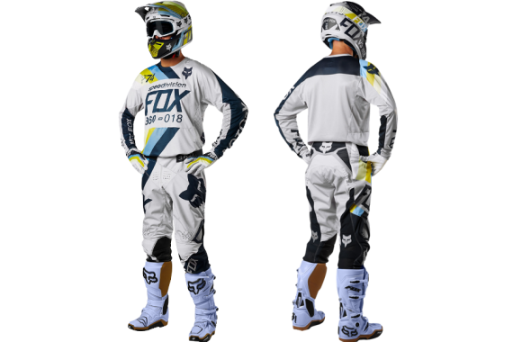 Tenue Fox 360 draftr lt gry