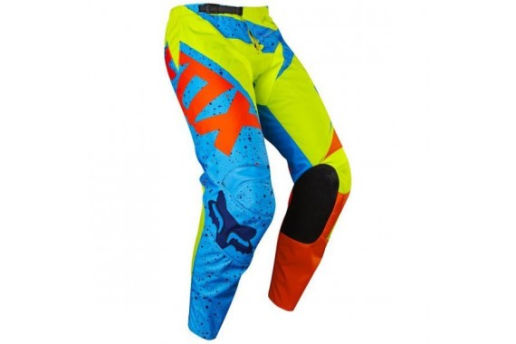 Pantalon Fox 180 Nirv KIDS JAUNE/BLEU
