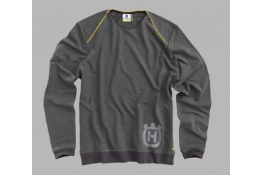 Progress Sweater Grey | HUSQVARNA
