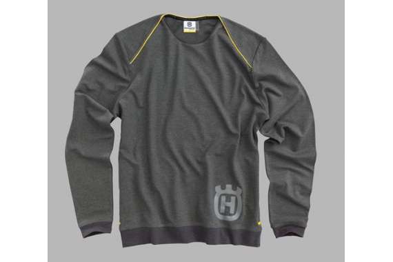 Progress Sweater Grey | HUSQVARNA