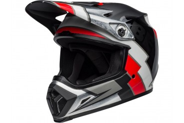 Casque BELL MX-9 Mips Twitch Replica Matte Black/Red/White | BELL