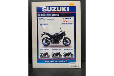 Kit déco SV 650 Classic Blanc / Bleu | SUZUKI