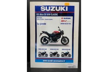 Kit déco SV 650 Classic Rouge / Noir | SUZUKI