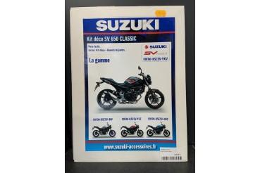 Kit déco SV 650 Classic Noir / Rouge| SUZUKI