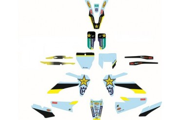 Kit Autocollants Rockstar | HUSQVARNA