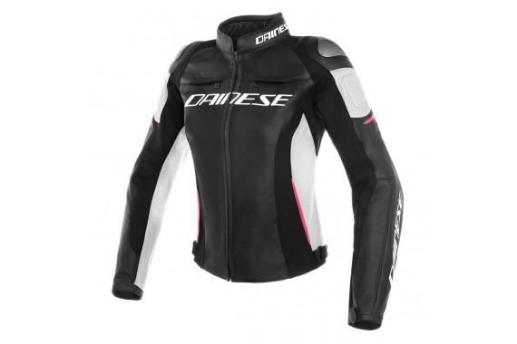 Racing 3 Lady Leather Jacket   DAINESE