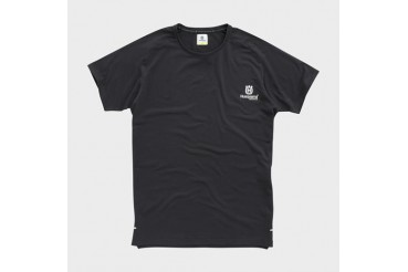 Origin Tee Black | HUSQVARNA