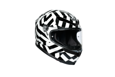 K6 ECE MULTI - Secret Black&White | AGV