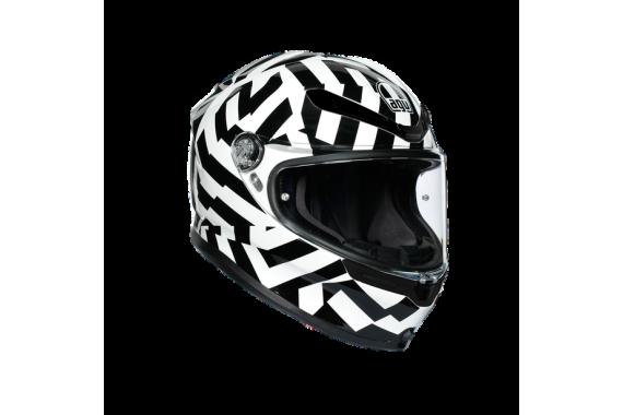 K6 ECE MULTI - Secret Black&White   AGV