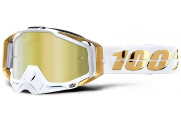 RaceCraft Goggles LTD - Mirror Gold Lens | 100%