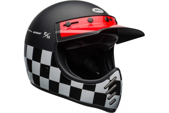 Moto-3 Fasthouse Checkers | BELL