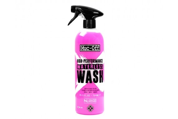 Muc-Off Nettoyant à sec Waterless Wash 750mL