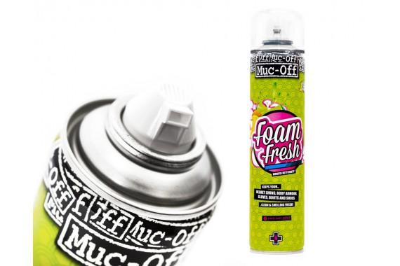 Muc-Off Mousse nettoyante pour casque Foam Fresh 400mL