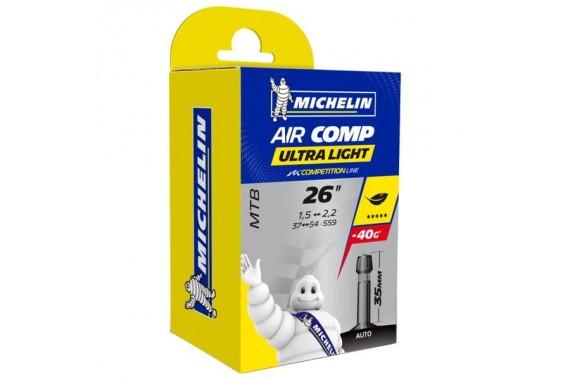 Chambre à air Michelin Airstop C4 Ultra Light 26X1.6/2.1 Schrader 35