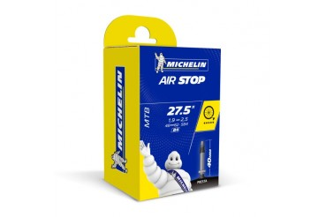 Chambre à air Michelin Airstop B4 27,5'X1.9-2.6 Presta 40mm