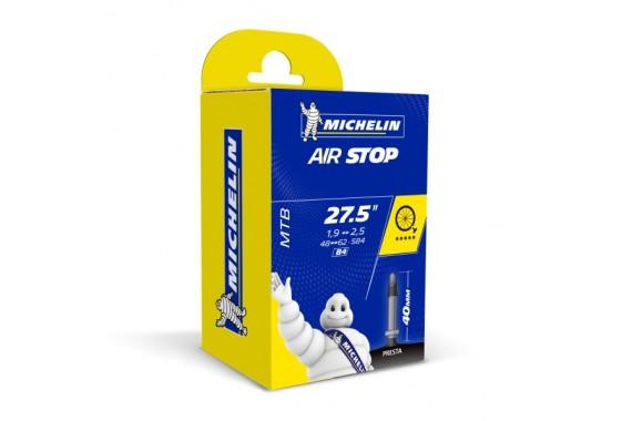 Chambre à air Michelin Airstop B4 27,5'X1.9-2.6 Presta 40mm
