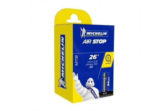 Chambre à air Michelin Airstop C4 26X1.6/2.1 Schrader 37