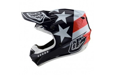 Casque Freedom Rouge/Blanc | TROYLEE DESIGNS