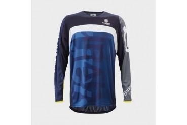 Railed Shirt Dark Blue | HUSQVARNA