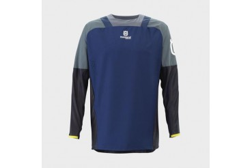 Gotland Shirt Blue | HUSQVARNA