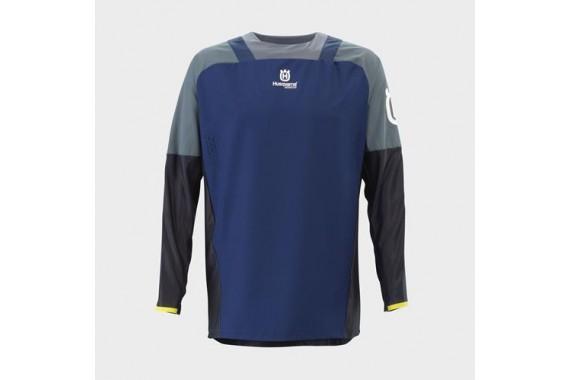 Gotland Shirt Blue   HUSQVARNA
