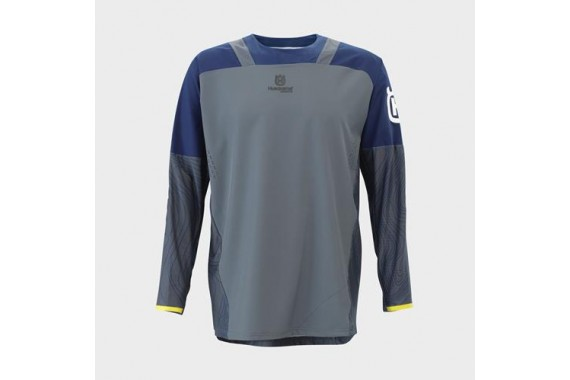 Gotland Shirt Grey | HUSQVARNA