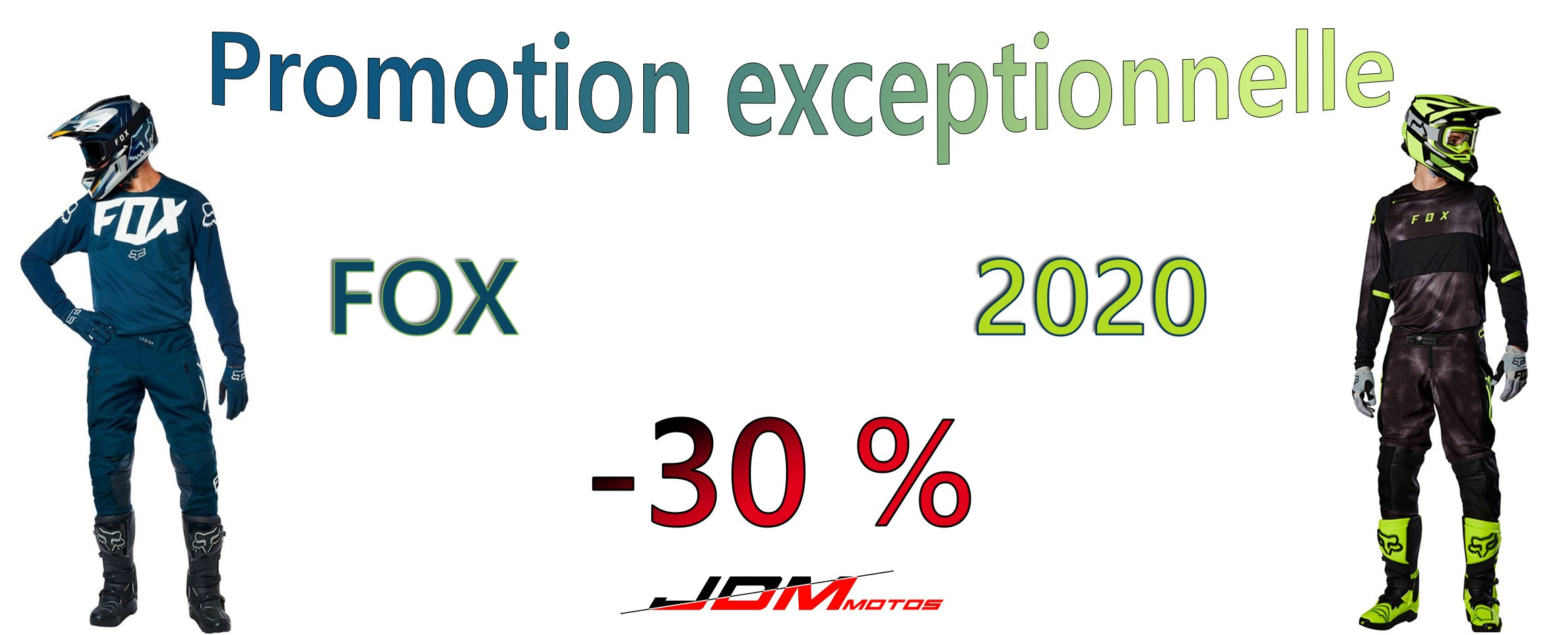 -30% sur la gamme FOX 2020 !
