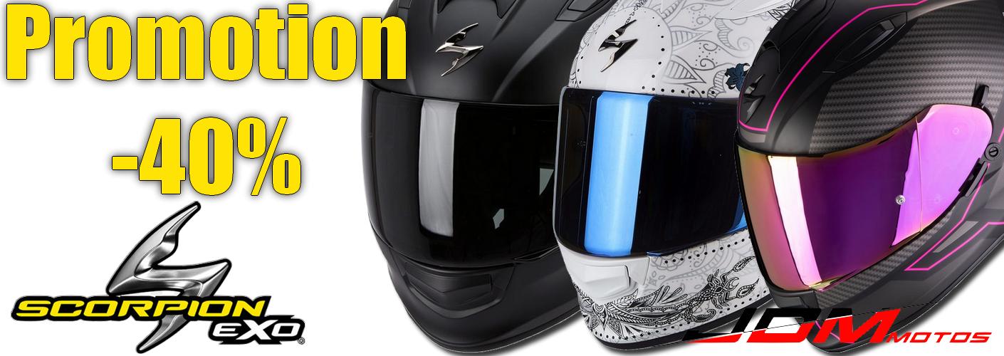 Promotion sur la gamme  Scorpion Exo 510